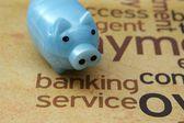 Bankovní služby koncept — Stock fotografie