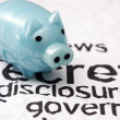 Stock Photo: Secret disclosure government