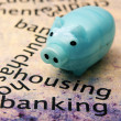 Housing banking concept — Stock Photo