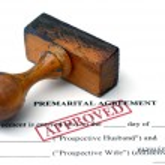 Premarital agreement — Stock Photo