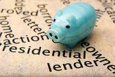 Residential lender concept — Stock Photo