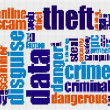 Stock Photo: Dattheft crime