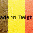 Made in Belgium — Stock Photo