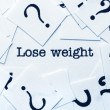 Lose weight concept — Stockfoto