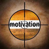 Motivation target — Stock Photo