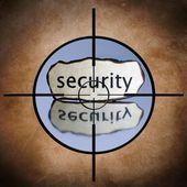 Security target — Stok fotoğraf