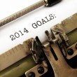 2014 goals — Stock fotografie #37609707