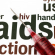Stock Photo: Hiv - aids
