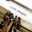 Stock Photo: Lose weight