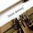 Save money — Stockfoto #38218729