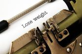 Lose weight — Stock Photo