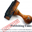 Publishing contract — Stock Photo #38922935