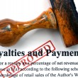 Royalties and payments — Stock Photo #38923131