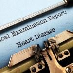 Постер, плакат: Medical report Heart disease