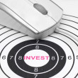 Invest target — Stock Photo #39110661