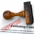 Publishing contract — Stock Photo #39111623