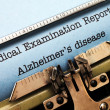 Stock Photo: Alzheimer disease