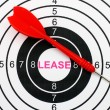 Lease target — Stock Photo #39341597