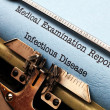 Stock Photo: Infectious disease