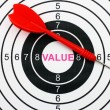 Value target — Stock Photo #39731659