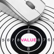 Value target — Stock Photo #39731687