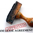 Farm lease agreement — Stock Photo