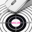 Value target — Stock Photo #40543935