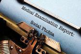 Sociální fobie — Stock fotografie