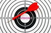 Vision target — Stock Photo