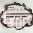 Interest rates - market — Stock Photo #40788503