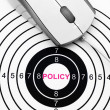 Foto de Stock  : Web policy
