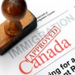 Immigration Canada — Stock Photo #41025797