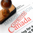 Stock Photo: Immigration Canada