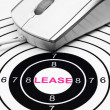 Lease target — Stock Photo #41026155