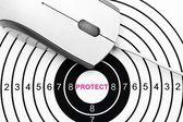 Web protect target — Stock Photo