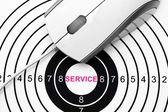 Web service target — Stockfoto