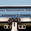 Alzheimer disease — Stock Photo #41387193