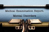 Mental disorders — Stock Photo