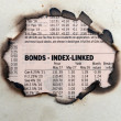 Stock Photo: Bonds index