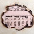 Interest rates — Stock Photo #41712517