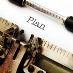 Plan concept — Stock Photo