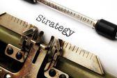Strategy concept — Stockfoto