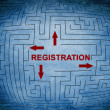 Stock Photo: Registration