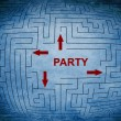 Where to have party — Stock Photo