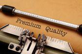 Premium kvalita — Stock fotografie