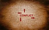 Conflict — Stock Photo