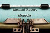 Alopecia — Stock Photo