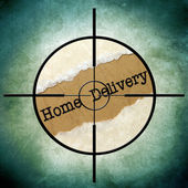 Home delivery — Stockfoto
