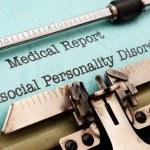 Постер, плакат: Antisocial personality disorder