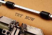 Try now — Stock Photo